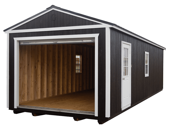 Portable Garage Open