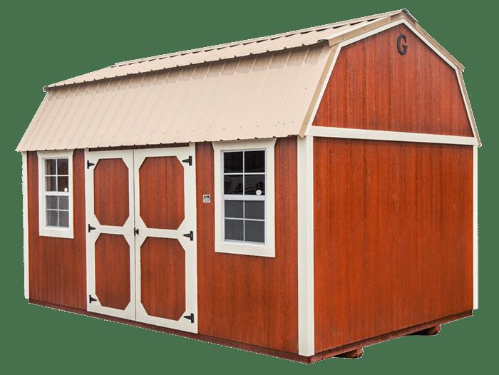 Side Lofted Barn Angle