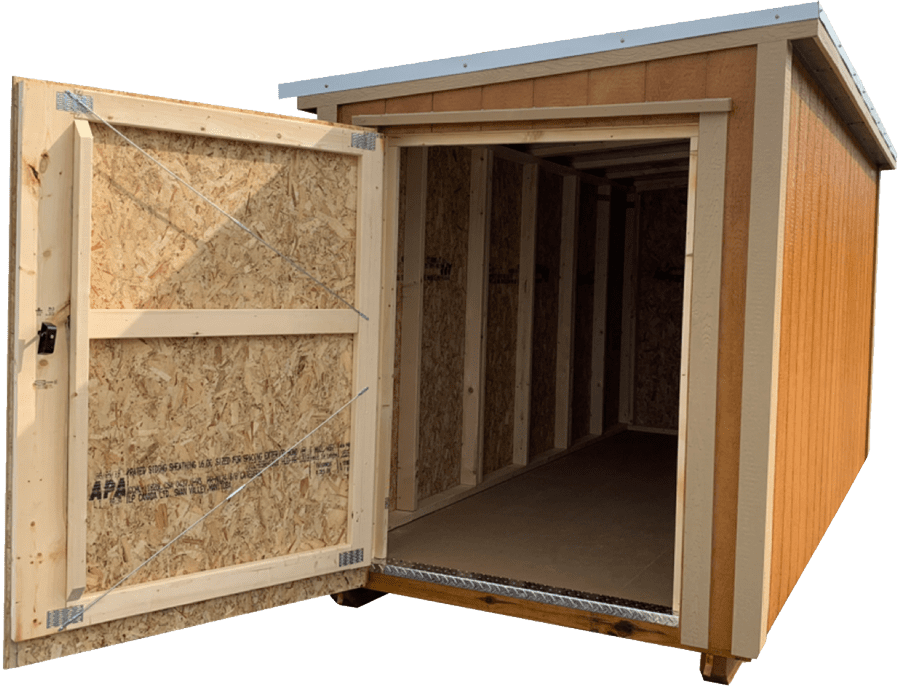 Mini Shed Open